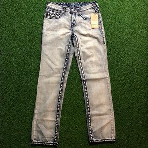NWT True Religion Jeans Womens Size 16  Skinny